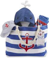 Baby Aspen Fun in The Sun 4 Piece Nautical Gift Set with Canvas Tote for Mom