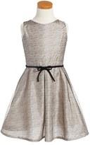 Isabel Garreton Mesh Fit & Flare Dress (Little Girls & Big Girls)