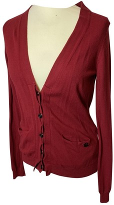 Armani Jeans Red Wool Top for Women