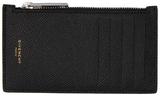Givenchy Black Eros Zipped Card Holder