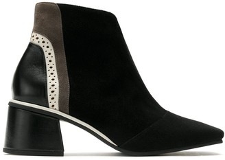 Sarah Chofakian Treasure square-toe ankle boots
