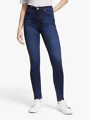 Lee Ivy High Waist Super Skinny Jeans, Dark Hunt