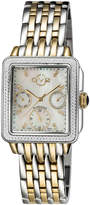 Gv2 30mm Bari Diamond Bracelet Watch, Golden/Steel