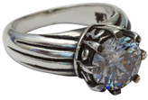 Femme Metale Jewelry Crowned Gem Ring