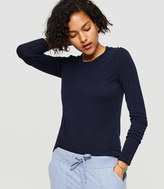 Lou & Grey Warming Knit Tee