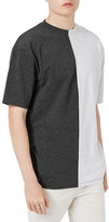 Topman Splice T-Shirt