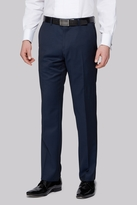 Moss Bros Tailored Fit Teal Dress Pants