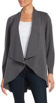 Calvin Klein Knit Open-Front Jacket