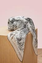 Alexander McQueen Eagle silk scarf