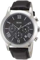 HUGO BOSS Men's 1512574 Leather Analog Quartz Watch