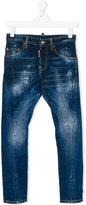 DSQUARED2 straight jeans - kids - Cotton/Spandex/Elastane - 16 yrs