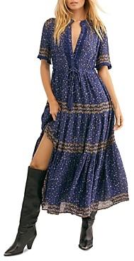 Free People Rare Feeling Printed Maxi Dress