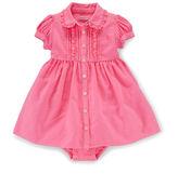 Ralph Lauren Cotton Oxford Dress & Bloomer
