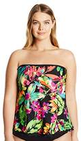 Maxine Of Hollywood Maxine Plus Summer Bounty Tankini Top