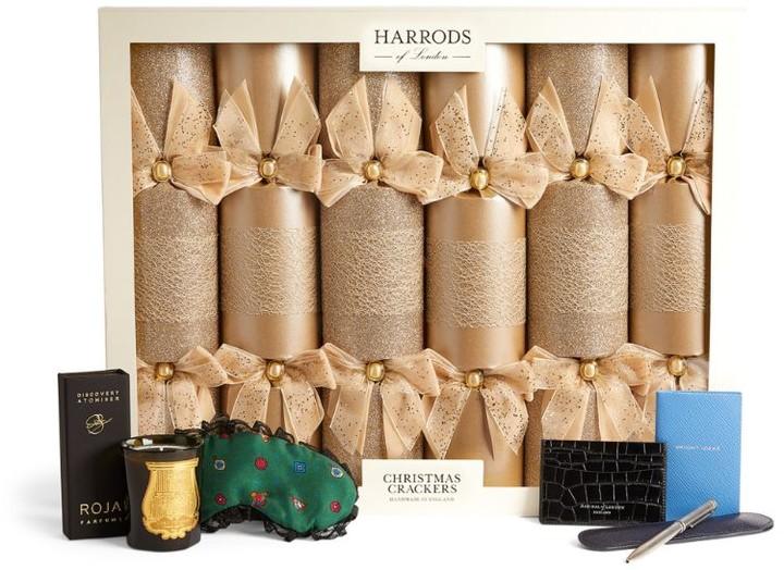 Harrods Luxury Traditional Christmas Crackers (Set of 6)