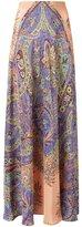 Etro paisley print maxi skirt - women - Silk - 40
