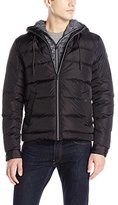 Scotch & Soda Men's Hooded Puffer Jacket