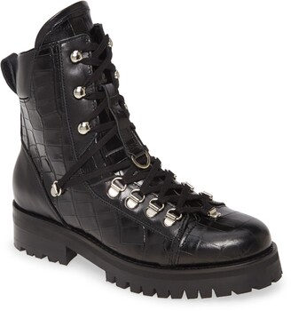 AllSaints Franka Lace-Up Hiker Boot