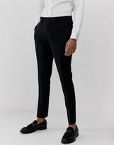 Asos Design DESIGN super skinny suit trousers in black