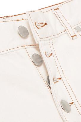 Joseph Den Cropped High-rise Straight-leg Jeans