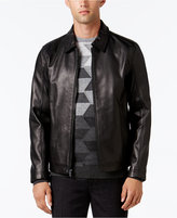 Alfani Collection Men's Starling Leather Jacket, Created for Macy's