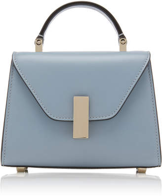 Valextra Iside Micro Leather Shoulder Bag