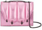 Marco De Vincenzo Cat's Claw shoulder bag - women - Leather/Brass - One Size