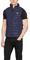 Crosshatch Men's Boxhill Ch Gilet with Zip Dtl Vest,Medium