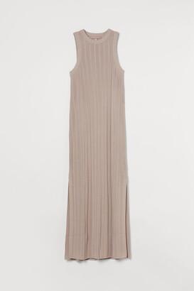 H&M Rib-knit maxi dress