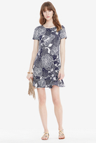 Diane von Furstenberg Deon Flounced Shift Dress