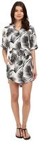 Mikoh Swimwear Anguilla Shirtdress Cover-Up
