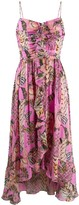 Temperley London silk ruffled dress