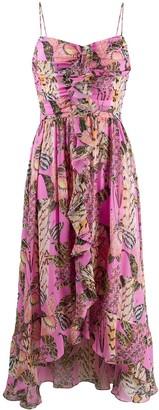 Temperley London Silk Ruffled Dress