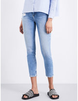 The Kooples Lizy skinny tapered high-rise jeans