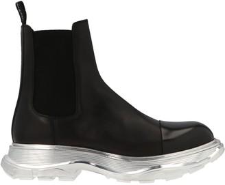 Alexander McQueen Tread Sole Chelsea Boots