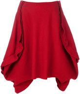 Comme des Garcons folded full skirt