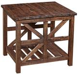 Bassett Mirror Drake Rectangular End Table