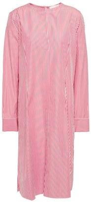 Mansur Gavriel Sriped Cotton-poplin Dress