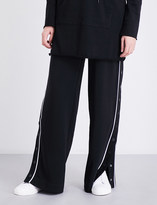 KENDALL + KYLIE KENDALL & KYLIE Popper-side jogging bottoms