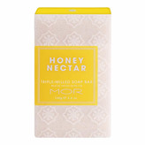 MOR Triple-Milled Soap Bar - Honey Nectar