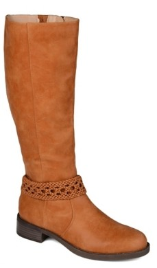 Journee Collection Paisley Wide Calf Boot