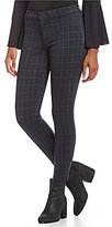 KUT from the Kloth Mia Plaid Print Ankle Ponte Pants