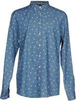 BOSS ORANGE Denim shirts - Item 42602819