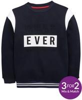 Very Boys Whatever Embossed Sweat Shirt