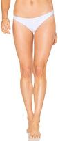 Shoshanna Classic Bikini Bottom in White. - size S (also in XS)