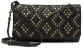 Lucky Brand Kune Studded Leather Convertible Crossbody Clutch