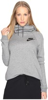 Nike Sportswear Rally Funnel Neck Sweatshirt Women's Clothing