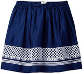 J.Crew Factory J. Crew Factory Embroidered Dot Skirt (Toddler, Little Girls, & Big Girls)
