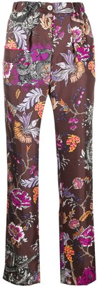 F.R.S For Restless Sleepers All-Over Print Trousers