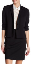 The Kooples Notch Collar Wool Blend Blazer